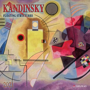Calendário 2021 Wassily Kandinsky - Floating Structures