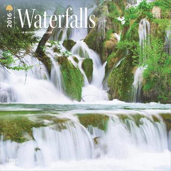 Calendário 2021 Waterfall