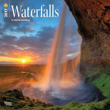 Calendário 2017 Waterfalls