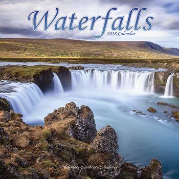 Calendário 2018 Waterfalls