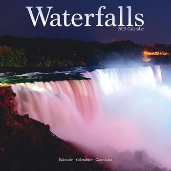 Calendário 2019  Waterfalls