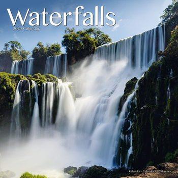 Calendário 2020  Waterfalls