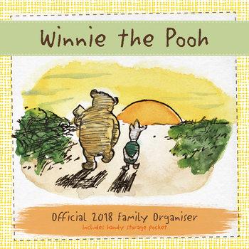 Calendário 2018 Winnie The Pooh