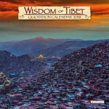 Calendário 2018 Wisdom of Tibet