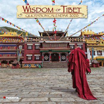 Calendário 2020  Wisdom of Tibet