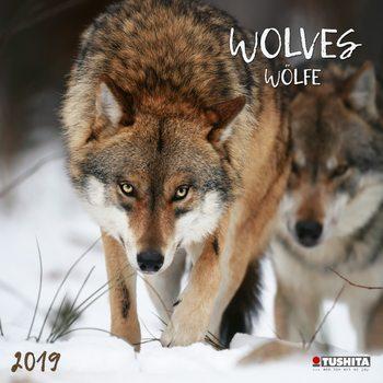 Calendário 2019  Wolves