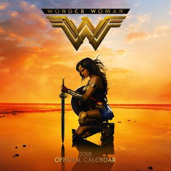 Calendário 2018 Wonder Woman
