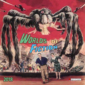 Calendário 2018  Worlds of Fiction