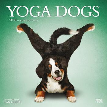 Calendário 2018 Yoga Dogs
