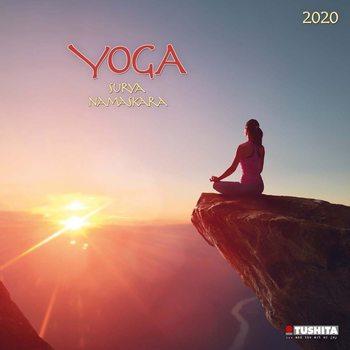 Calendário 2020 Yoga