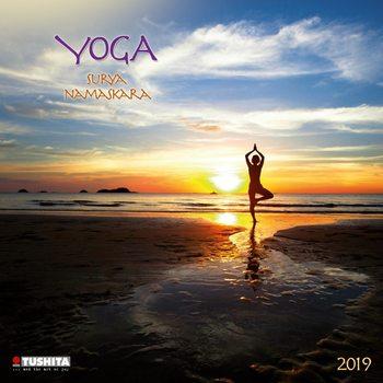 Calendário 2019  Yoga Surya Namaskara