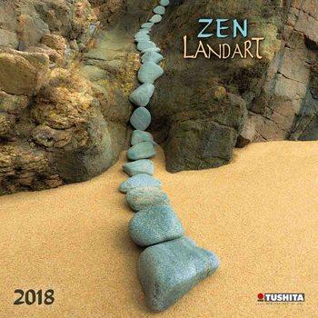 Calendário 2018 Zen Landart