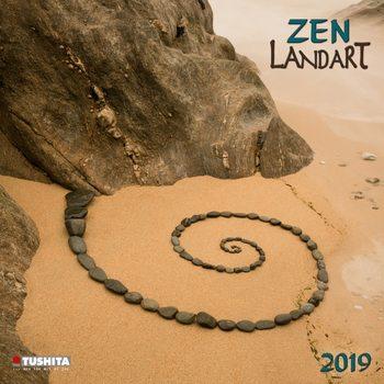 Calendário 2019  Zen Landart