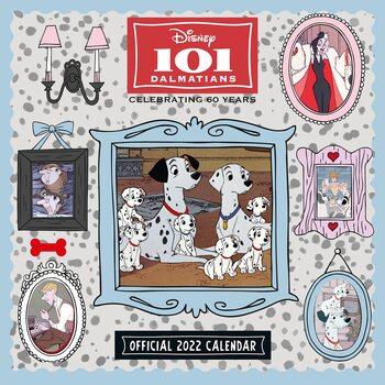 Calendário 2022 101 Dalmatians