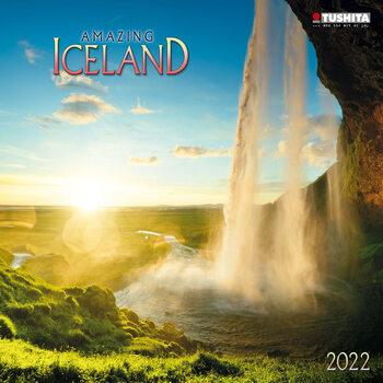 Calendário 2022 Amazing Iceland