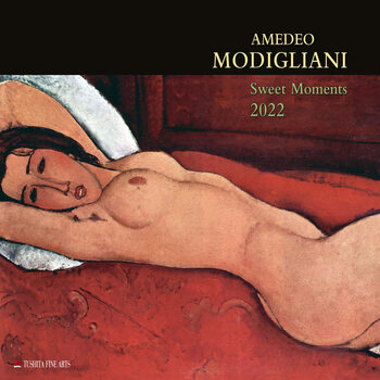 Calendário 2022 Amedeo Modigliani - Sweet Moments