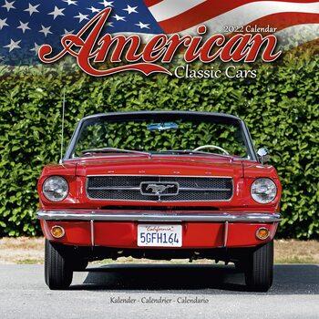 Calendário 2022 American Classic Cars