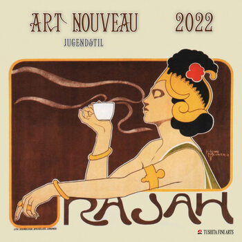 Calendário 2022 Art Nouveau