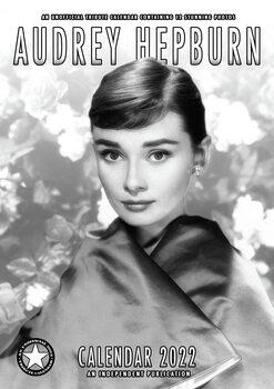 Calendário 2022 Audrey Hepburn