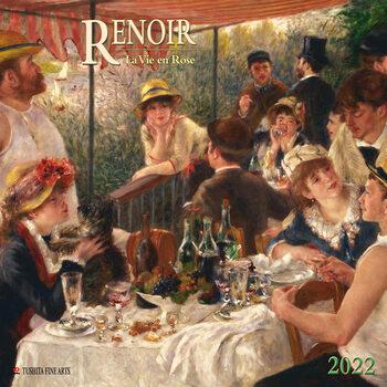 Calendário 2022 Auguste Renoir - La Vie en Rose