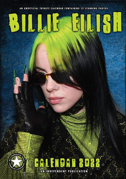 Calendário 2022 Billie Eilish