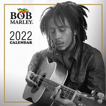 Calendário 2022 Bob Marley