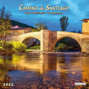 Calendário 2022 Camino de Santiago