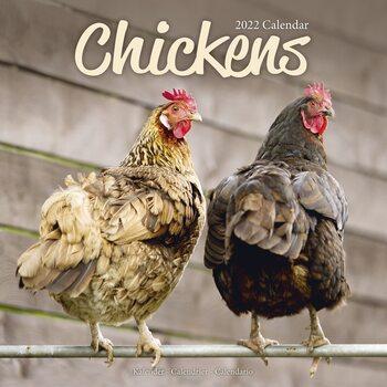 Calendário 2022 Chickens