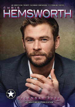 Calendário 2022 Chris Hemsworth