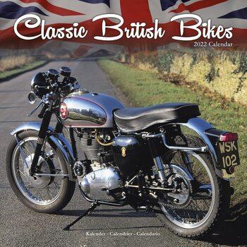 Calendário 2022 Classic British Bikes