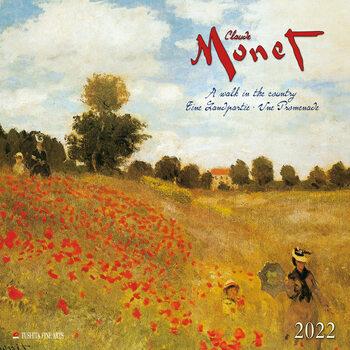 Calendário 2022 Claude Monet - A Walk in the Country