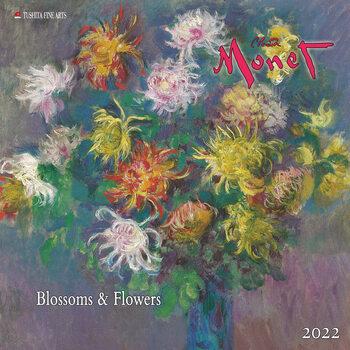 Calendário 2022 Claude Monet - Blossoms & Flowers