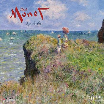 Calendário 2022 Claude Monet - By the Sea