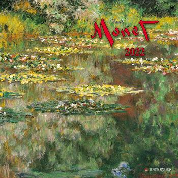 Calendário 2022 Claude Monet