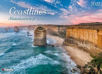 Calendário 2022 Coastlines