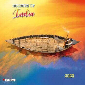 Calendário 2022 Colors of India