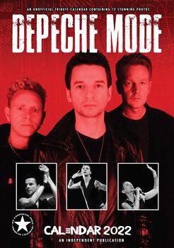 Calendário 2022 Depeche Mode