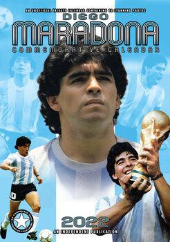Calendário 2022 Diego Maradona