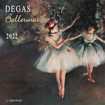 Calendário 2022 Edgar Degas - Ballerinas