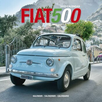 Calendário 2022 Fiat 500 - Wall Cal