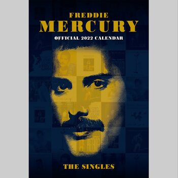 Calendário 2022 Freddie Mercury