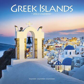 Calendário 2022 Greek Islands