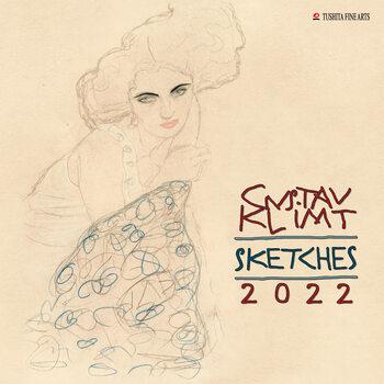 Calendário 2022 Gustav Klimt - Sketches