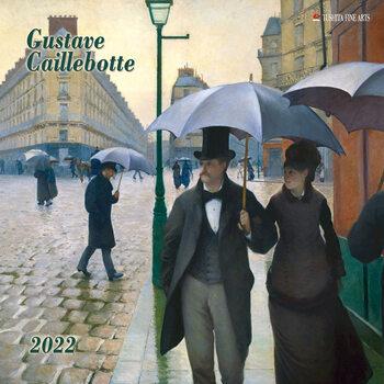 Calendário 2022 Gustave Caillebotte