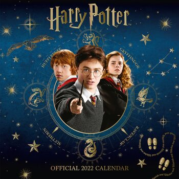 Calendário 2022 Harry Potter