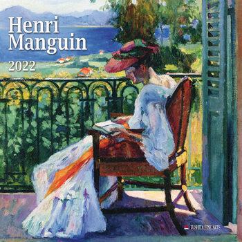 Calendário 2022 Henri Manguin
