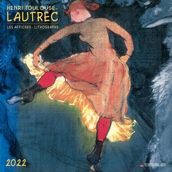 Calendário 2022 Henri Toulouse-Lautrec