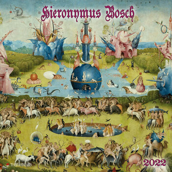 Calendário 2022 Hieronymus Bosch