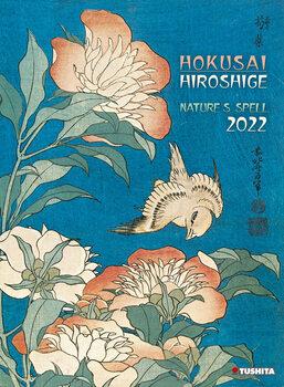 Calendário 2022 Hokusai/Hiroshige - Nature's Spell