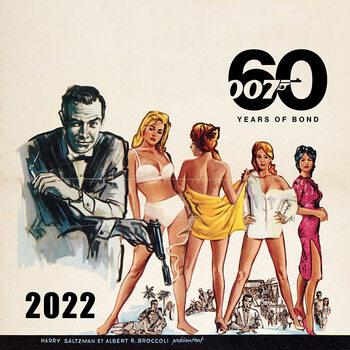 Calendário 2022 James Bond - No Time to Die